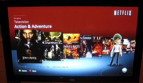 Xbox Shows Off New Netflix Browsing Feature, Improved Video Quality
